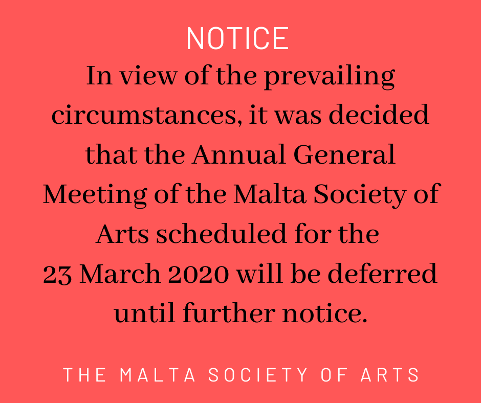 AGM Cancellation Notice
