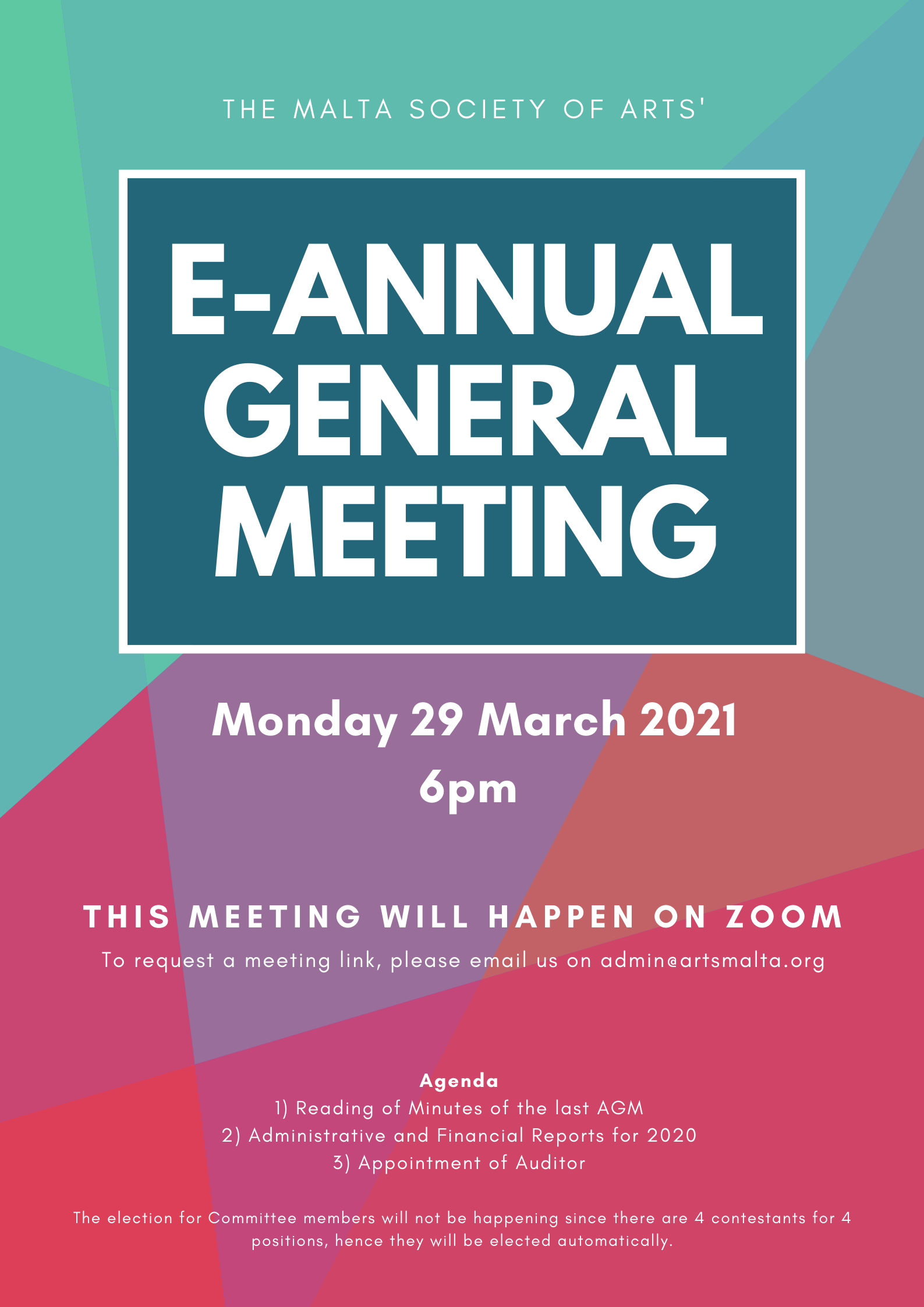 AGM2021 POSTER - e-meeting