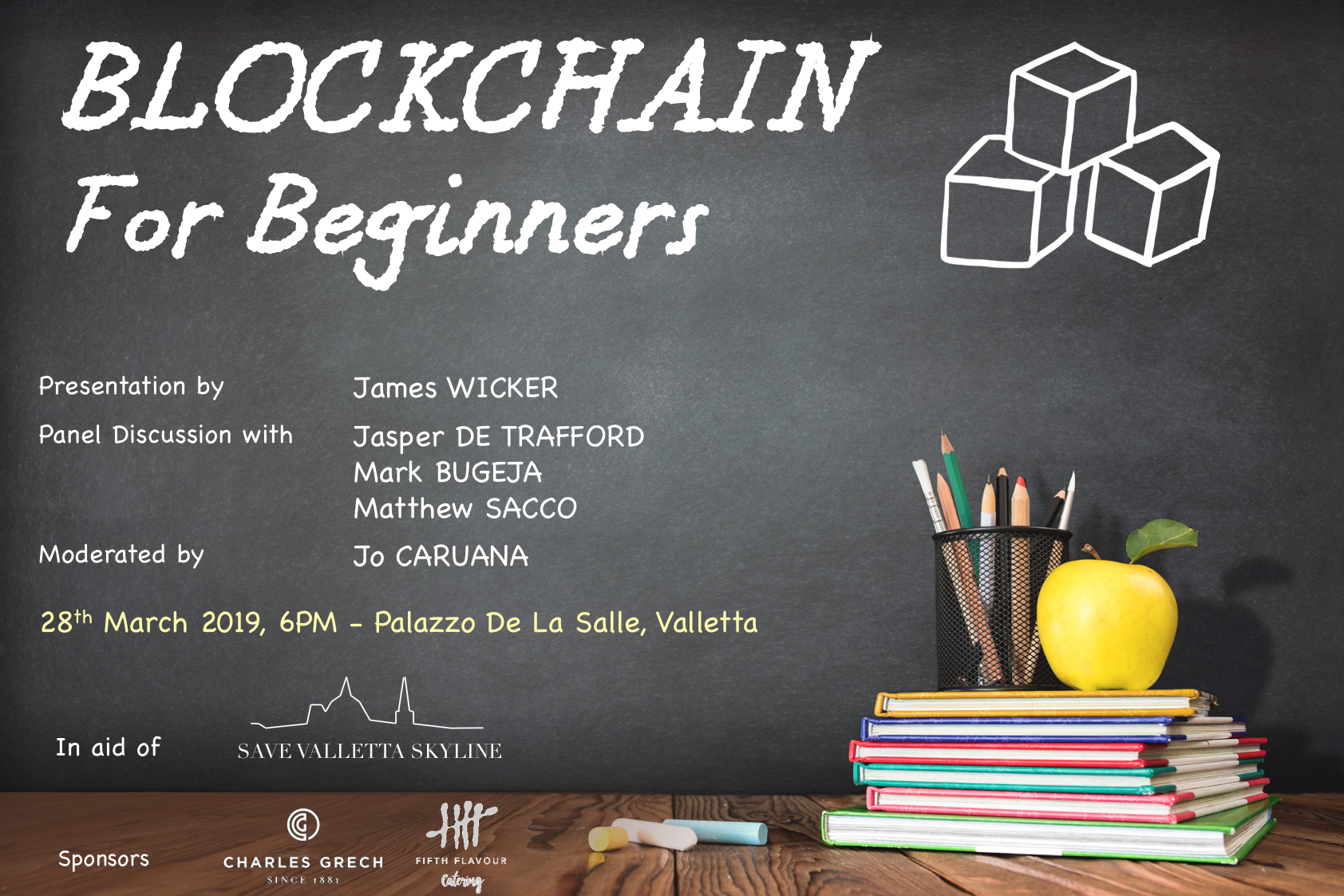 Blockchain for beginners - Poster (1)