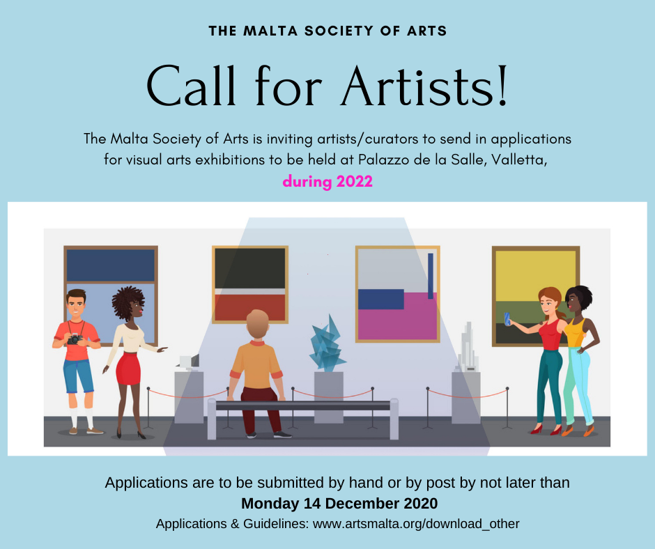 Call for Artists 2022 Graphic
