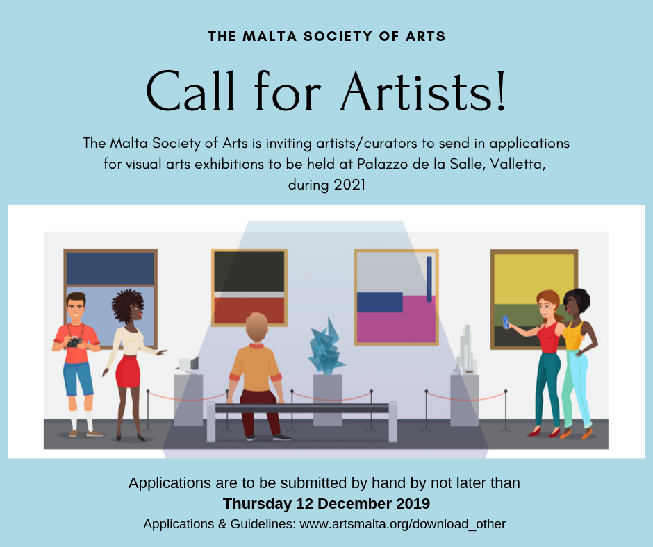 Call for Artists Graphic
