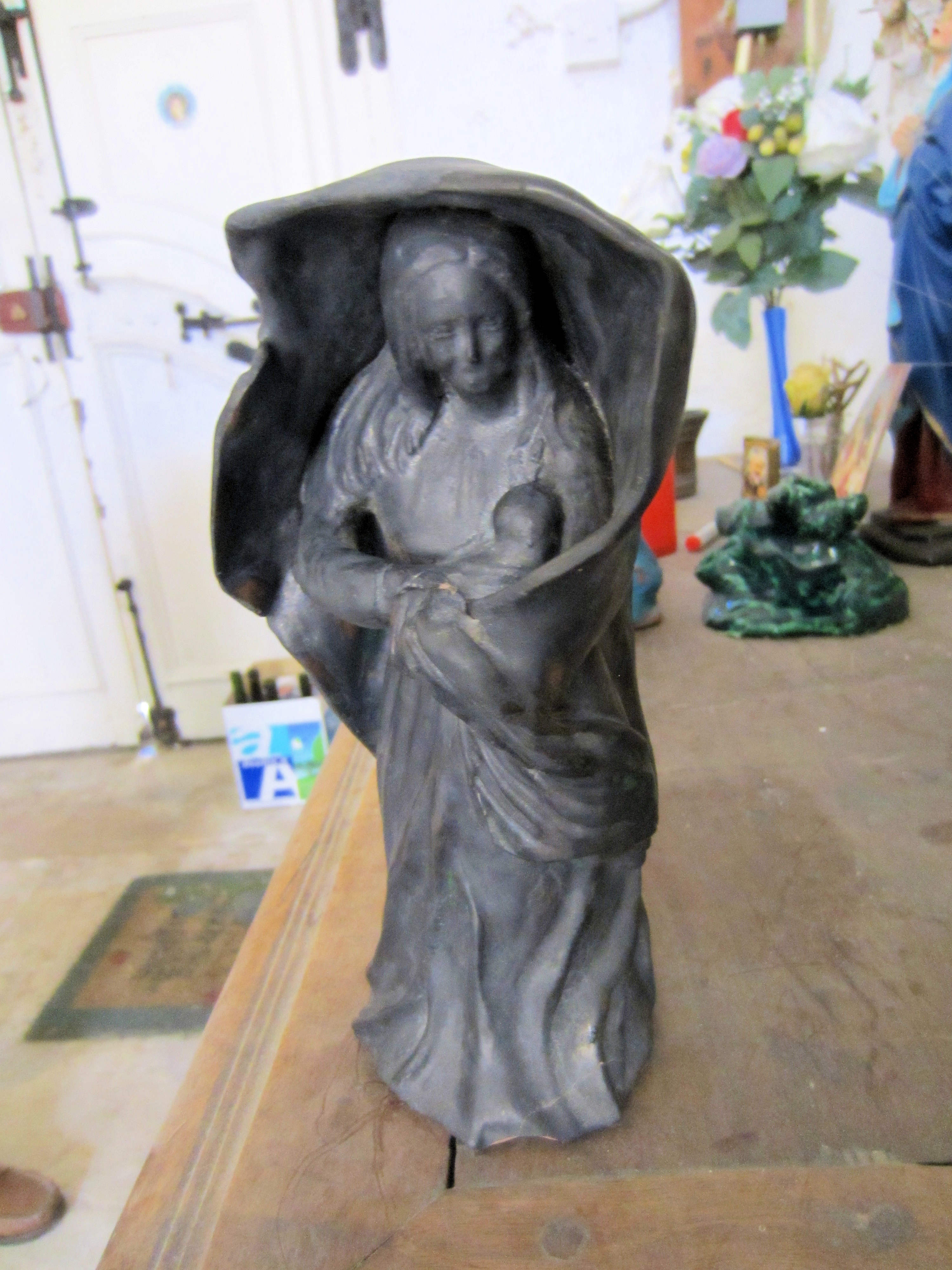 Holy Virgin with the Maltese costume