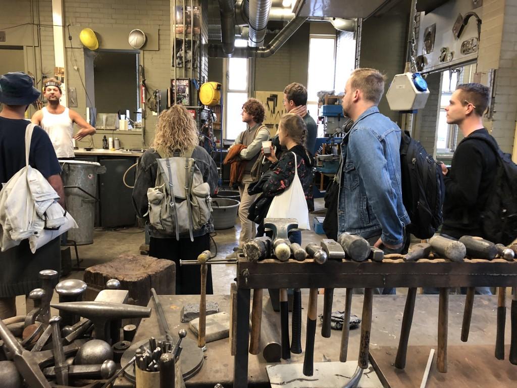 Minerva Lab and studio at Groningen
