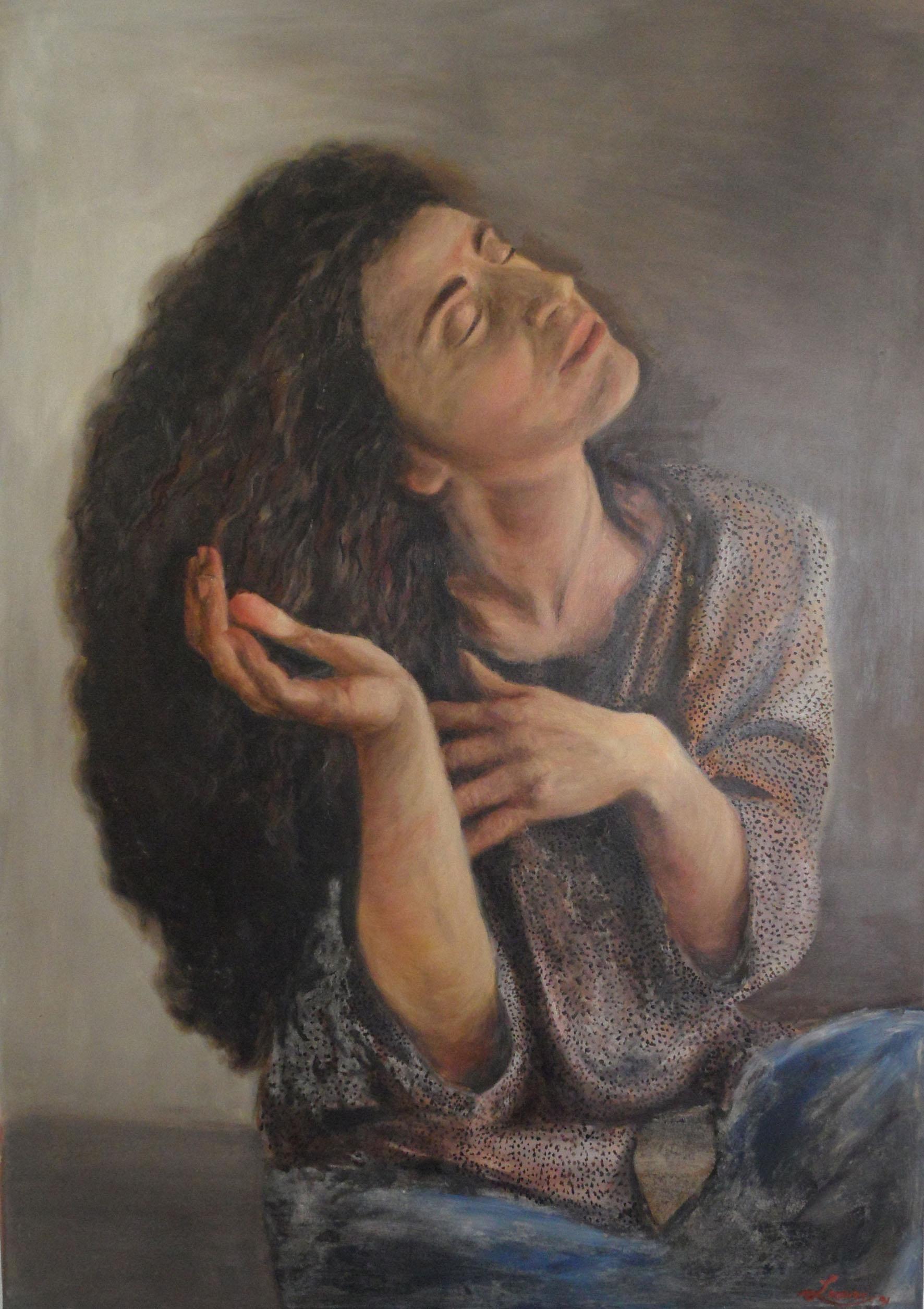 JBL_1991_Portrait of Marthese_oils on canvas_100x80