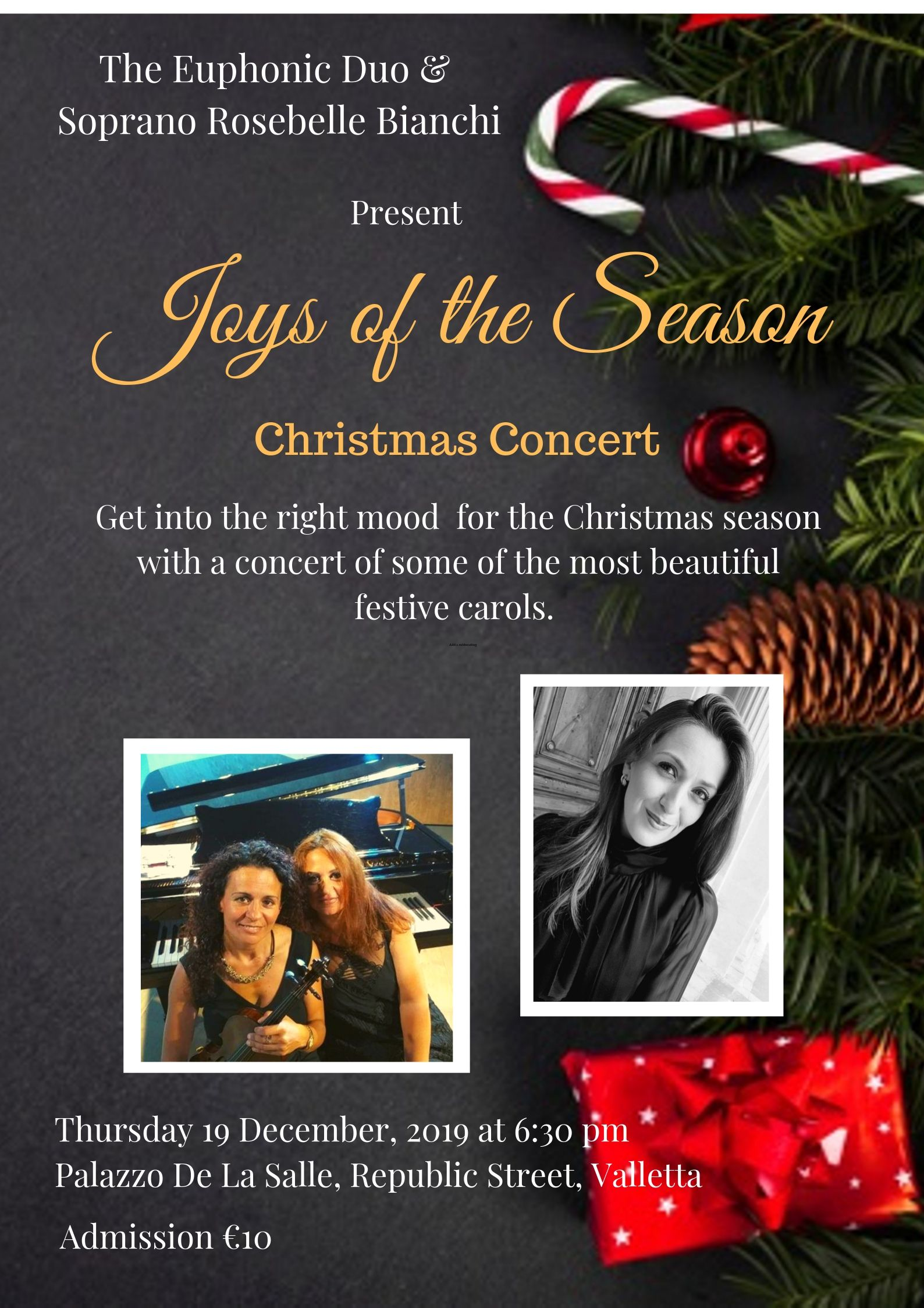 Joys of the Season Poster