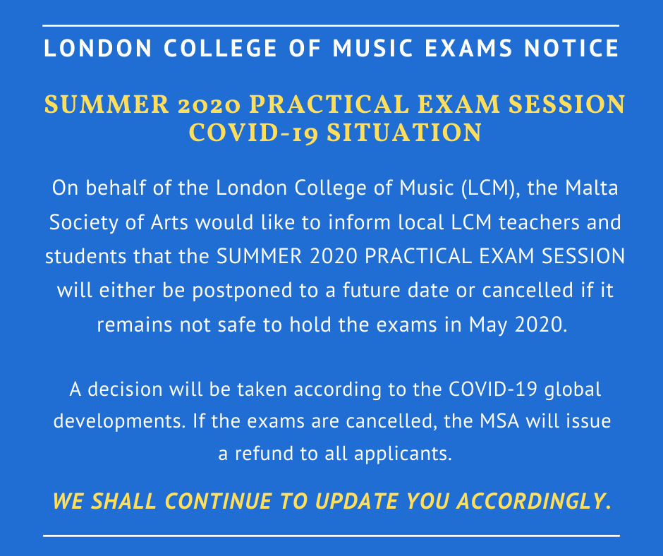 LCM Covid Notice