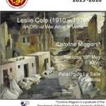 Lecture Leslie Cole
