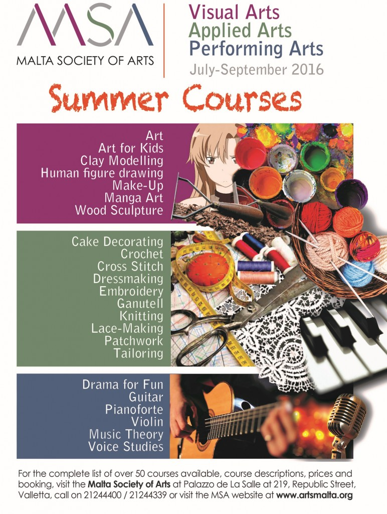 MSA Summer Courses advert A4_cropped for website