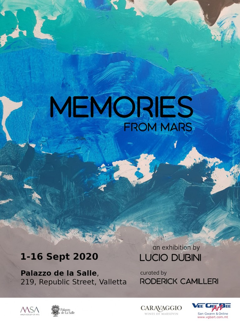 Memories From Mars 1-16 Sept
