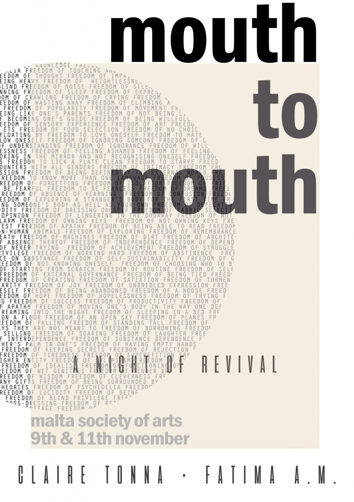 Mouth to Mouth Poster small
