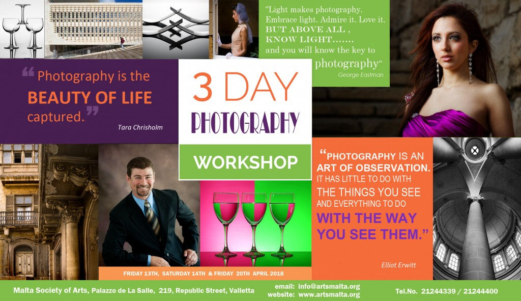 POSTER PHOTOGRAPHY WORKSHOP