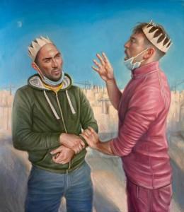 Panigierku - Oil on Canvas - Dominique Ciancio