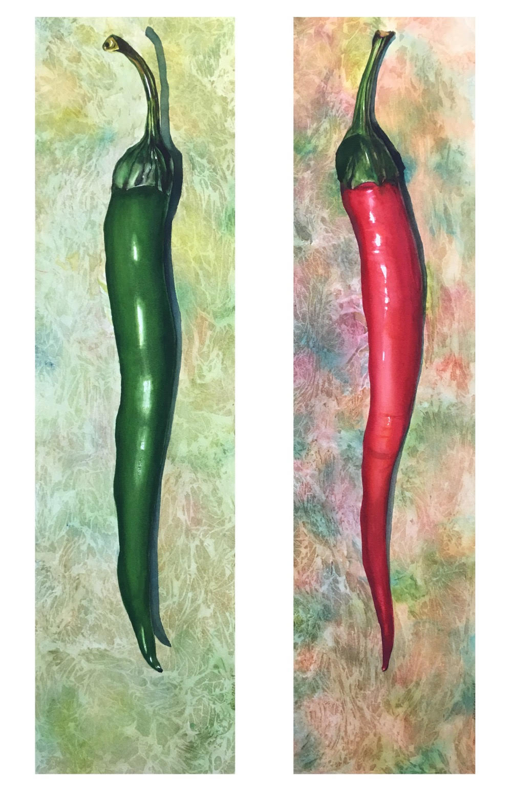 Peppers by Anna Galea
