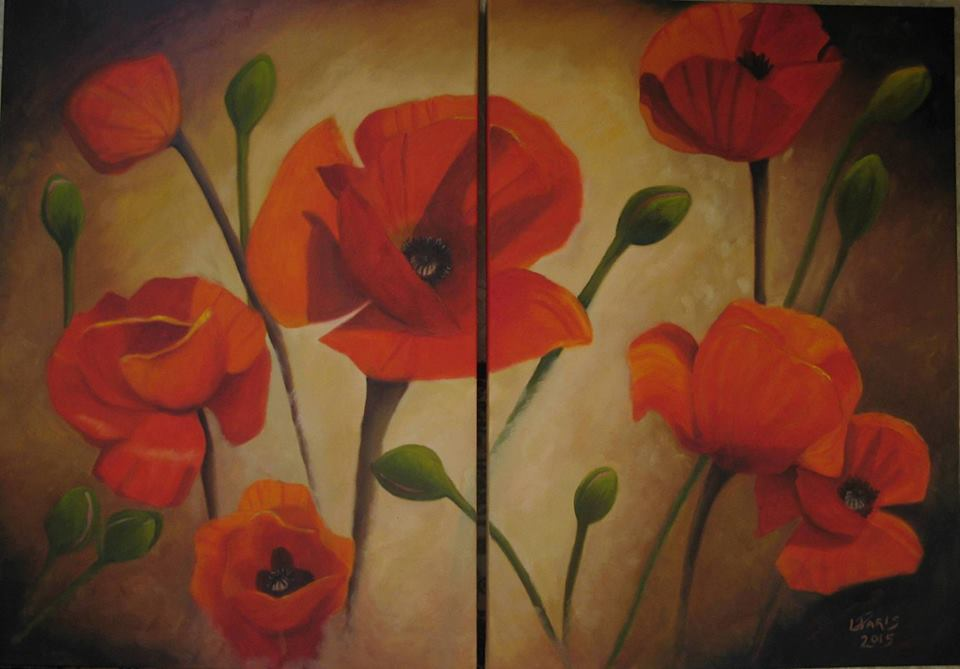 Poppies - Diptych