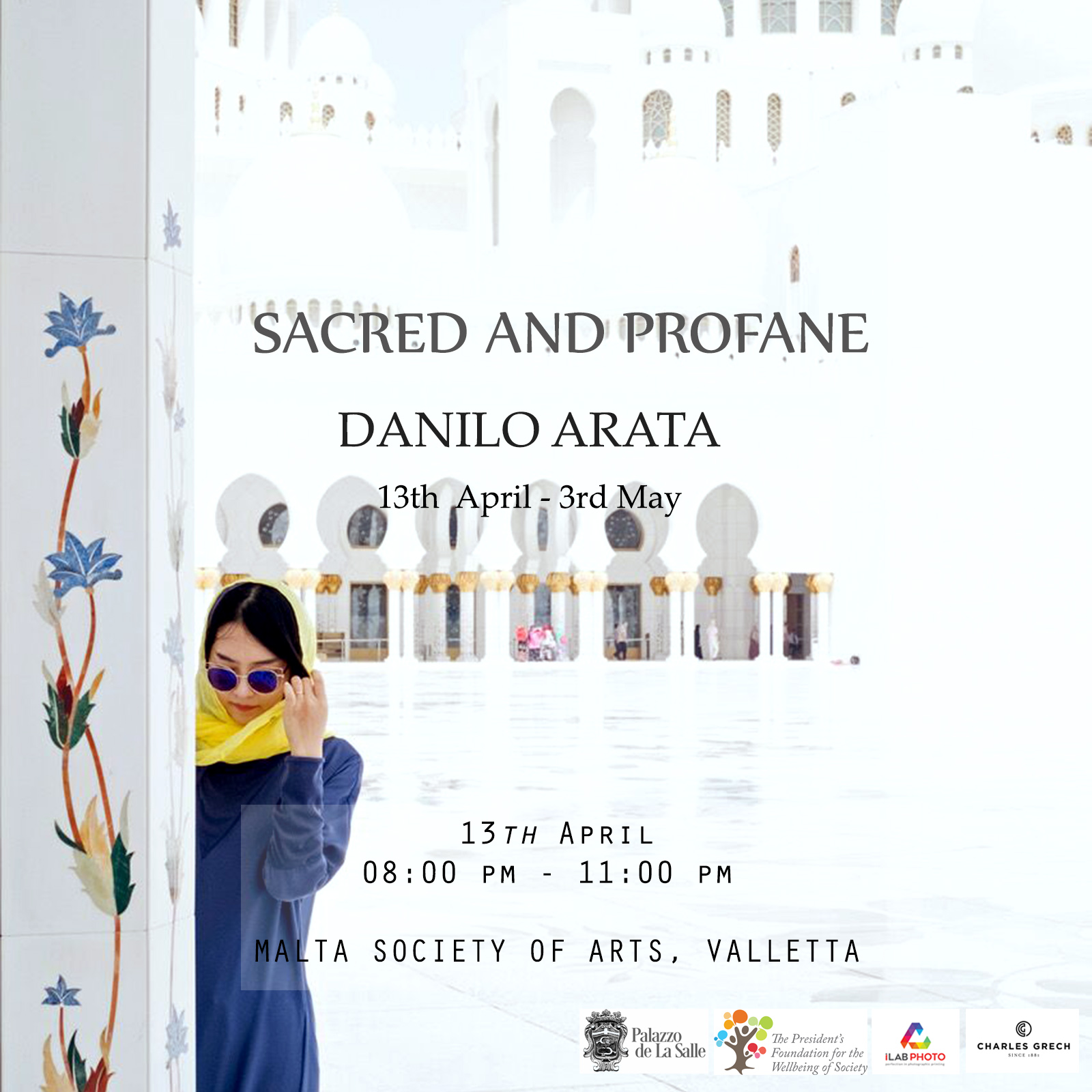 Poster Sacred and Profane