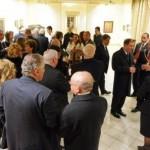 Reception at the upper Halls