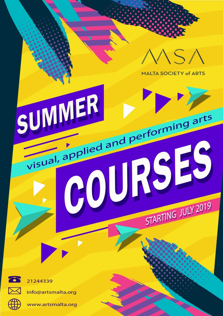 Summer Courses 2019 Poster
