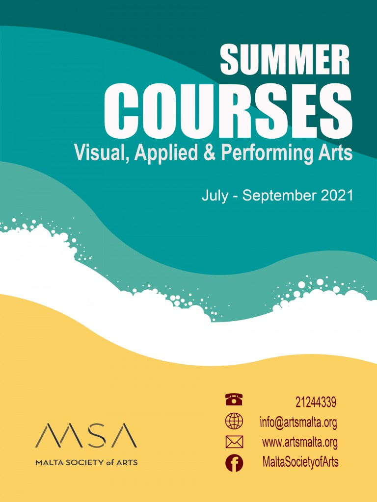 Summer courses Poster 2021