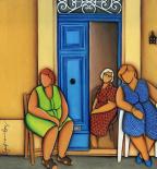 Three idle ladies - Stefanie  Borg