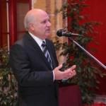 Trevor Zahra addressing the guests
